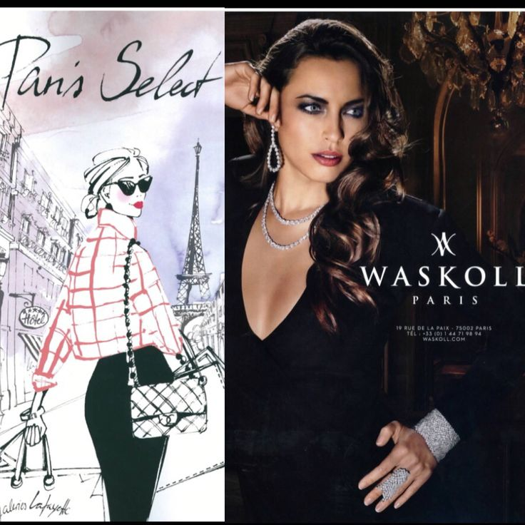 Do you know the Paris Select magazine? Waskoll had the honor to be a part of this magazine in 2014! #waskoll #paris #parisselect #magazine