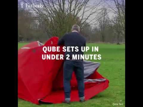 Qube 4 Person Tent - Price: £349.    http://qubetents.com/qube-4.html