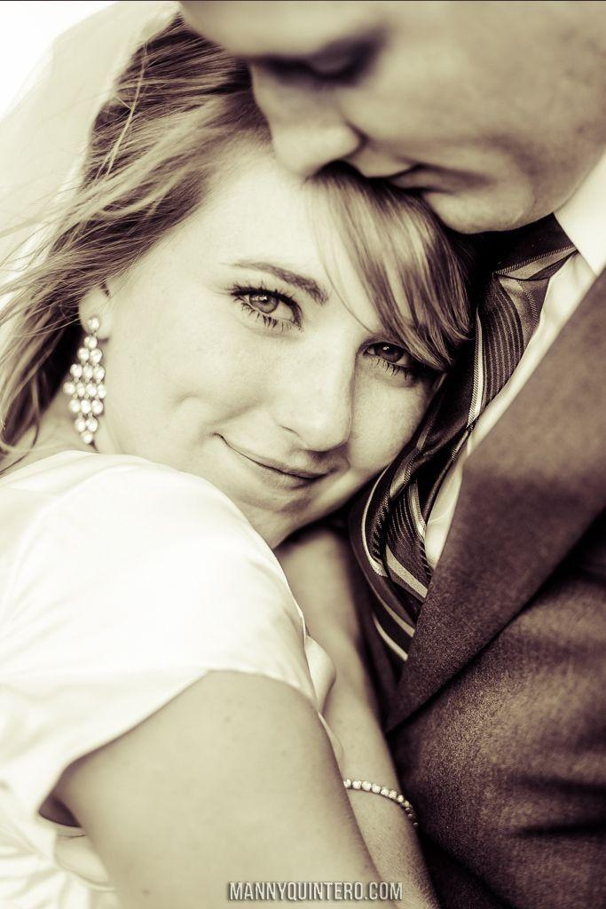 Cute wedding photo..