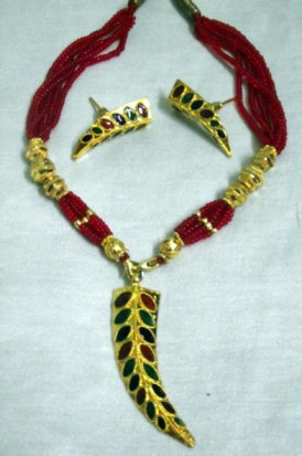 Indian Assamese Jewellery Pepa Single by RamdhenuEmporium on Etsy, $41.00