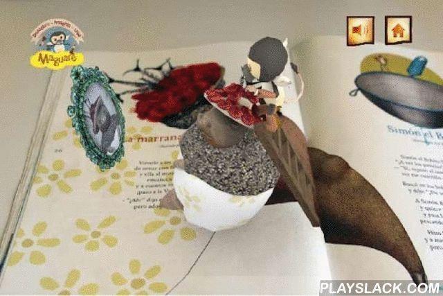 Pombo Encantado  Android App - playslack.com ,  Diviértete con Rin Rin Renacuajo, Simón el Bobito, la Pobre Viejecita, Mirringa Mirronga, Juaco el Ballenero, Juan Matachín, el Pardillo y muchos más cuentos, mientras disfrutas de la lectura en familia a través de una aventura interactiva que te transporta por el mundo de los cuentos. Una oportunidad de enseñar los cuentos tradicionales de Rafael Pombo a niños y niñas mediante imágenes en realidad aumentada, sonidos y juegos.Descarga de manera…
