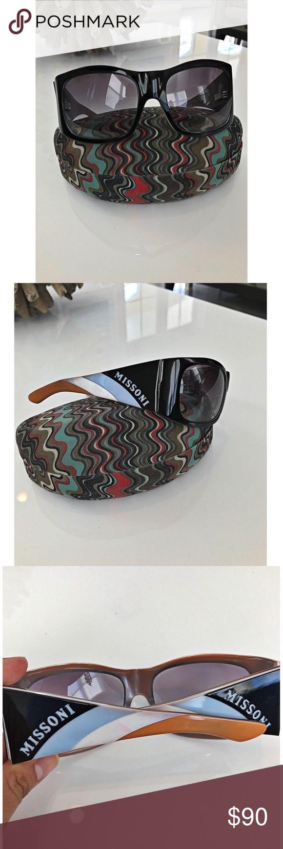 Missoni sunglasses Used. Includes original case. Missoni Accessories Sunglasses