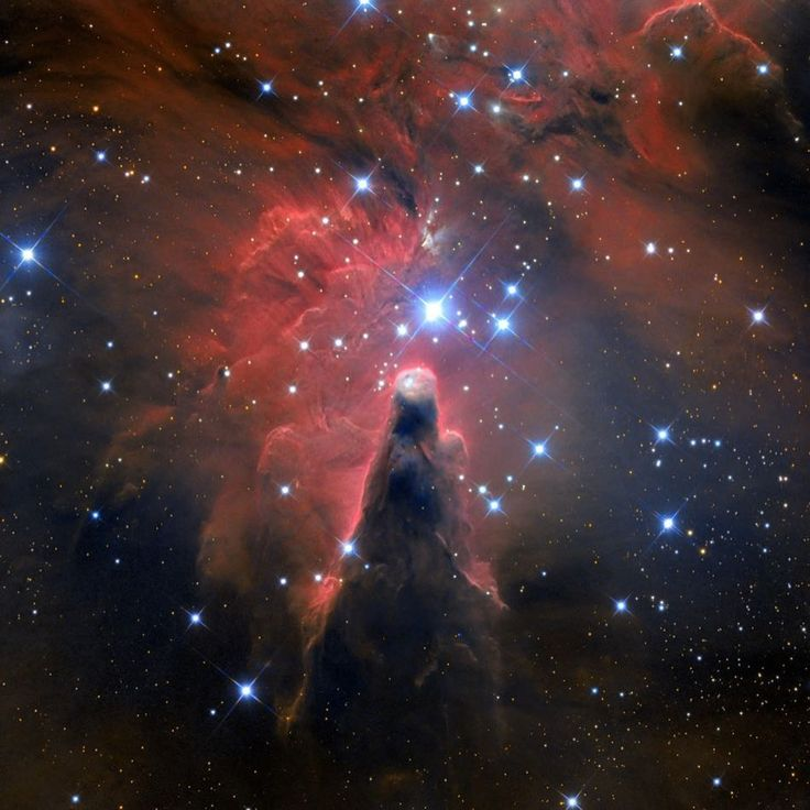 Here we have the stunning cone nebula, The Cone Nebula is