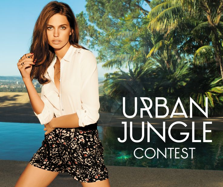 Enter our Urban Jungle Pinterest Contest! Fill out the form on Dynamite's Facebook page and pin your fave styles from our Urban Jungle board for a chance to win a $250 gift card!