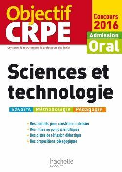 Sciences et technologie : oral CRPE http://cataloguescd.univ-poitiers.fr/masc/Integration/EXPLOITATION/statique/recherchesimple.asp?id=190781785