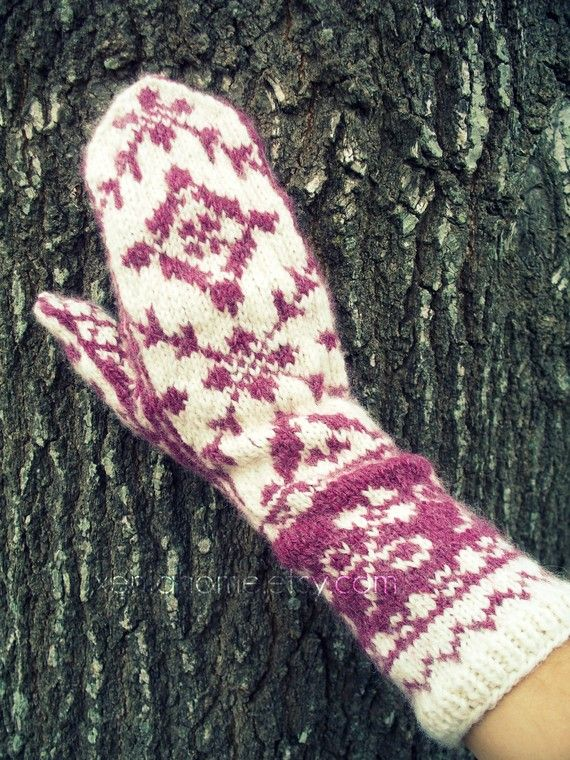551 best Knitting mittens / wanten breien images on Pinterest ...