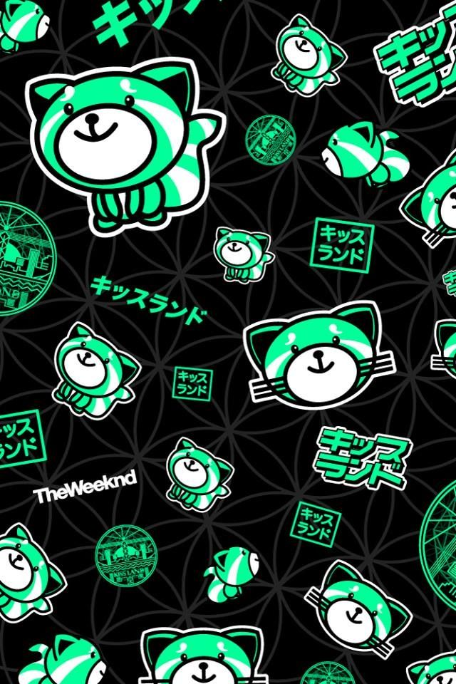 ☆ RobsGirlJal @ Pinterest ☆ The Weeknd | XO | Kiss Land | Background | Wallpaper