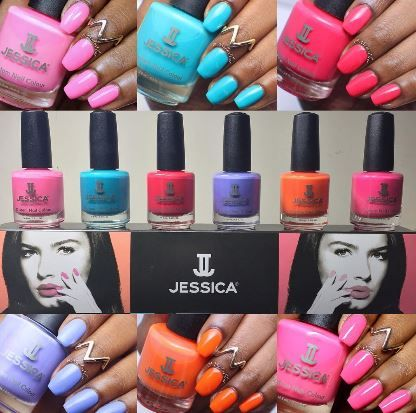 K And D Hairdressers St Ives POP Couture Swatches from top left to bottom: POP Princess (light pink ...