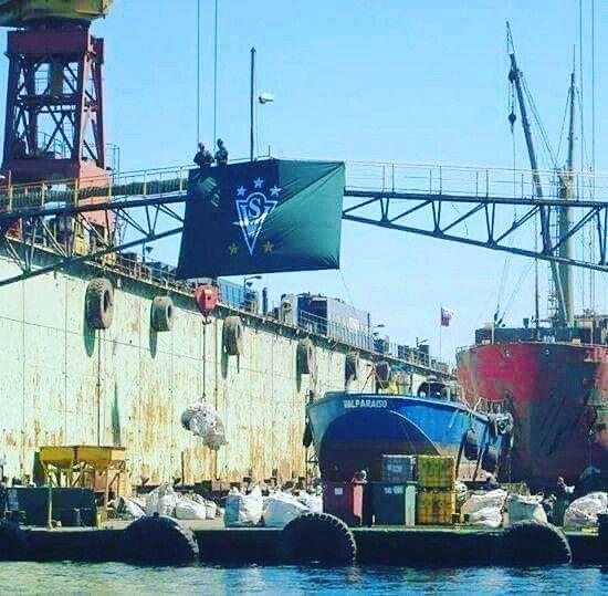 DIQUE FLOTANTE SOCIBER Valparaíso es Wanderers