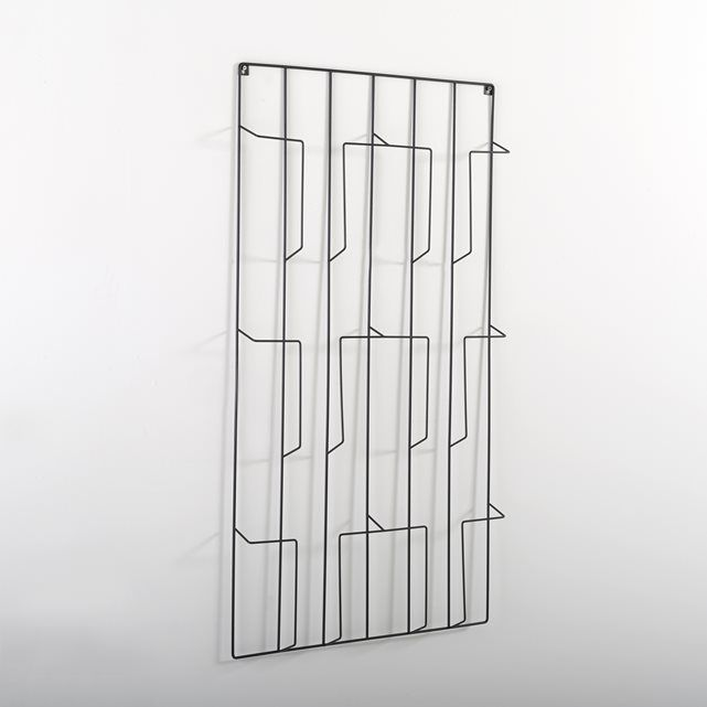 image porte revue mural niouz la redoute interieurs - Porte Revue Mural Metal