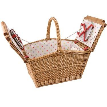 pretty hamper for picnics