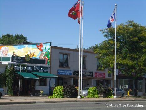 Cliffside Village - shopping district