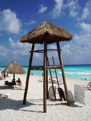Cancun's tropical weather is sublime much of the year.