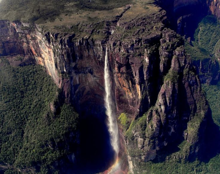 Водопад Анхель (Angel Falls) - Мастерок.жж.рф
