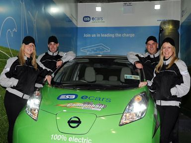 Cannonball fever hits Ireland as electric car enters the race