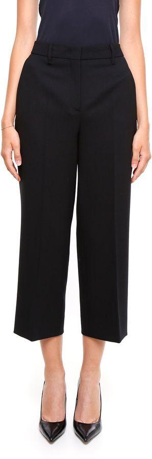 Prada Stretch Natte' Wool Trousers