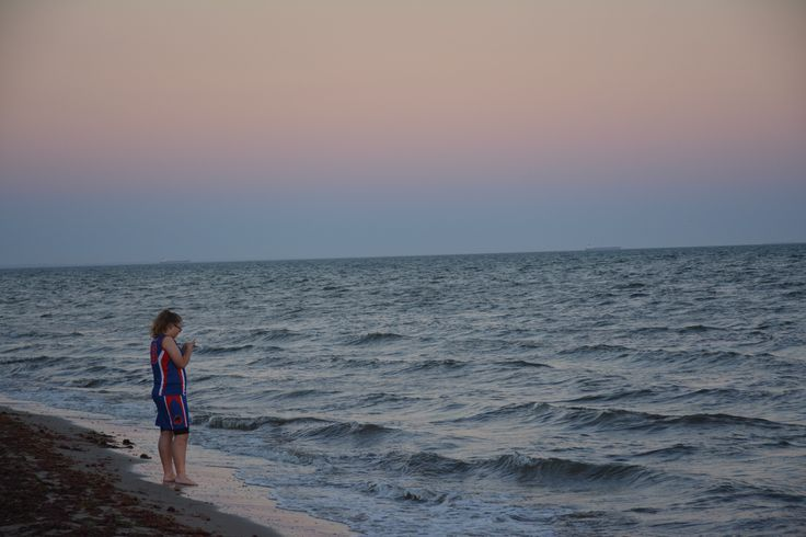 L1M1AP3 - rule of thirds - camera was hand held. I snapped this photo of my daughter whilst I was doing my sunset photos. Auto mode Nikon D5200, lens Nikon DX 18-140mm. Shutter Speed: 1/250, aperture: f/5.3, ISO: (auto) 800