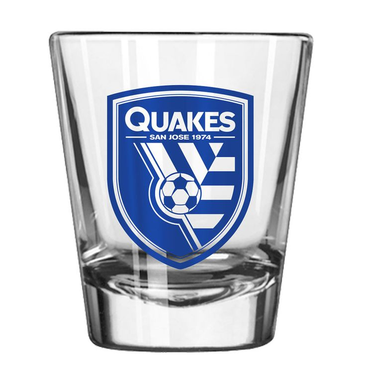 San Jose Earthquakes 2oz. Collectible Game Day Shot Glass
