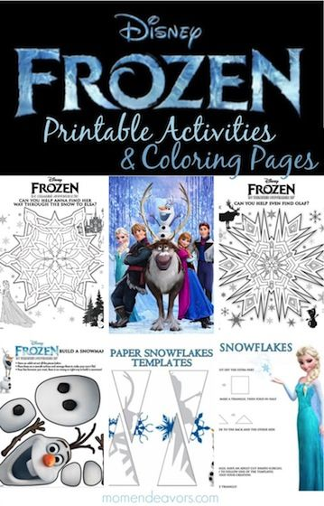 Best 25 Frozen Activities Ideas On Pinterest