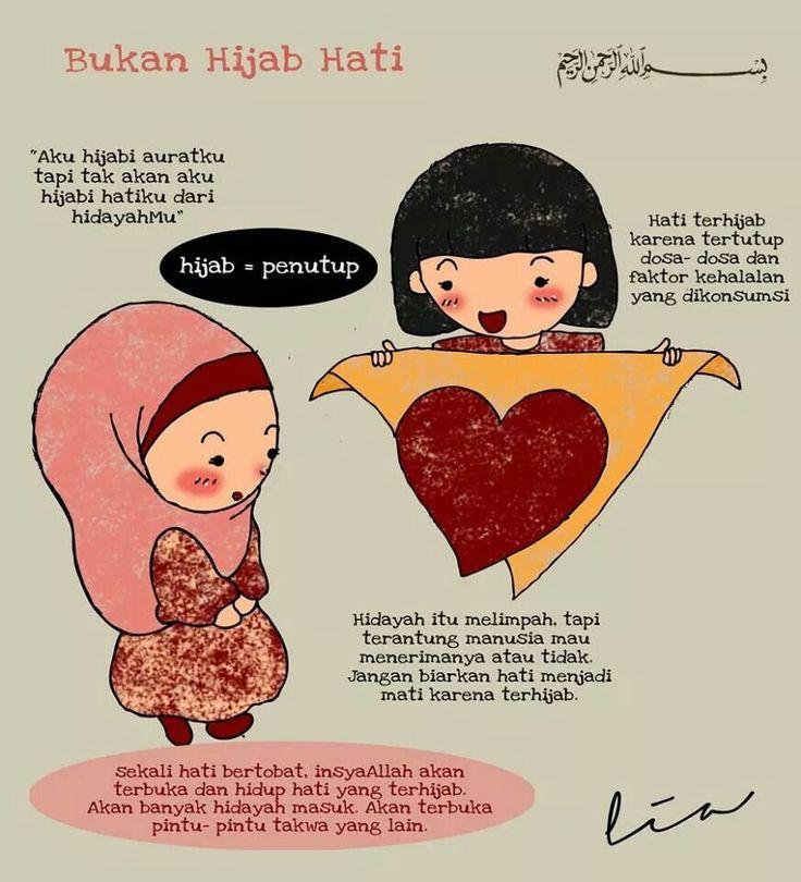 Bukan hijab hati