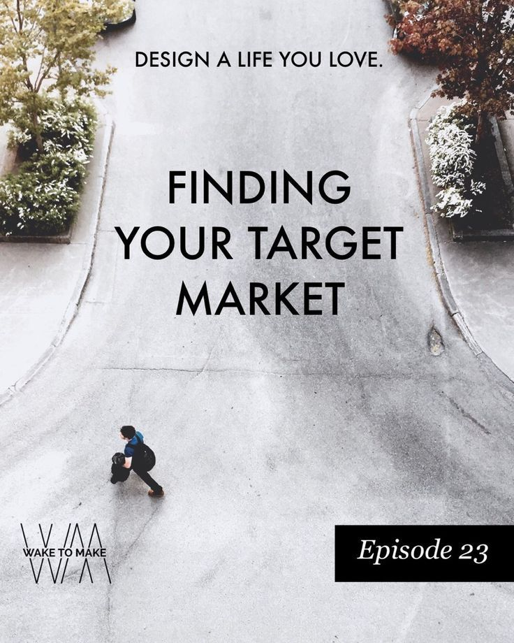 On this week's podcast episode we talk about Finding Your Target Market because People Like People. Designing a life you love is something we value and part of that is understanding your ideal client and then finding them. In order to grow your audience, business or blog you need to know where your target market is hanging out.