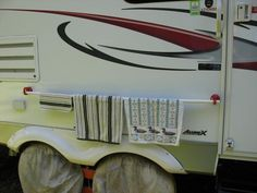 Suction cups from harbor freight, pvc pipe, re. RV.Net Open Roads Forum: Travel Trailers: Easy but practical mod (pix)
