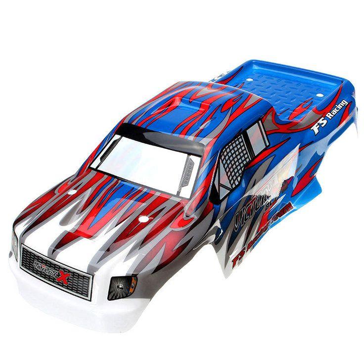 FS Racing 538551 Red & Blue RC Car Shell FS53692 1/10 RC Car Parts-FREE Shipping #FSRacing