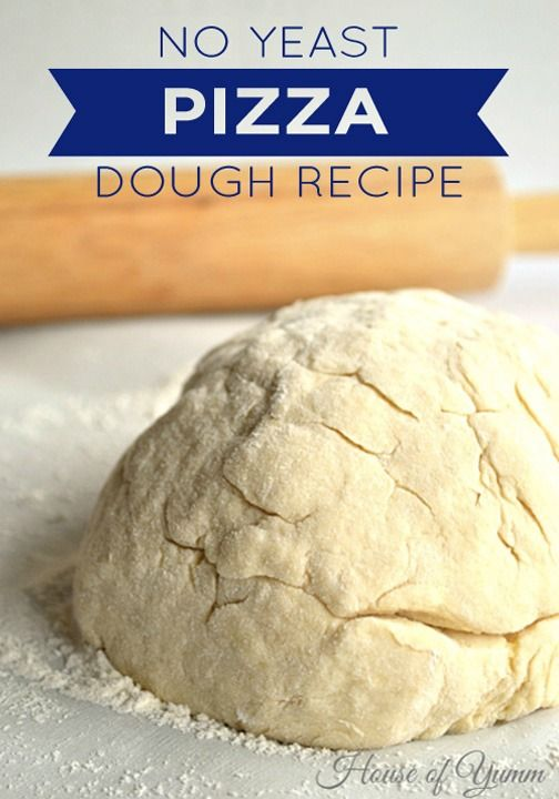 how to make homemade pizza dough easy without yeast