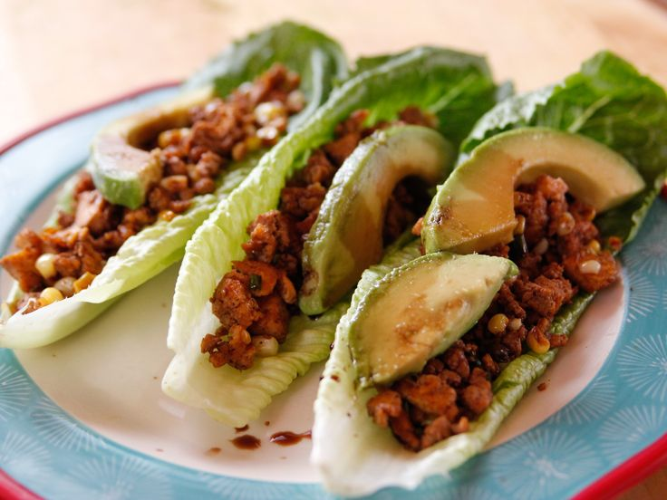 use eggs instead of tofu?? Tofu Lettuce Wraps recipe from Ree Drummond via Food Network