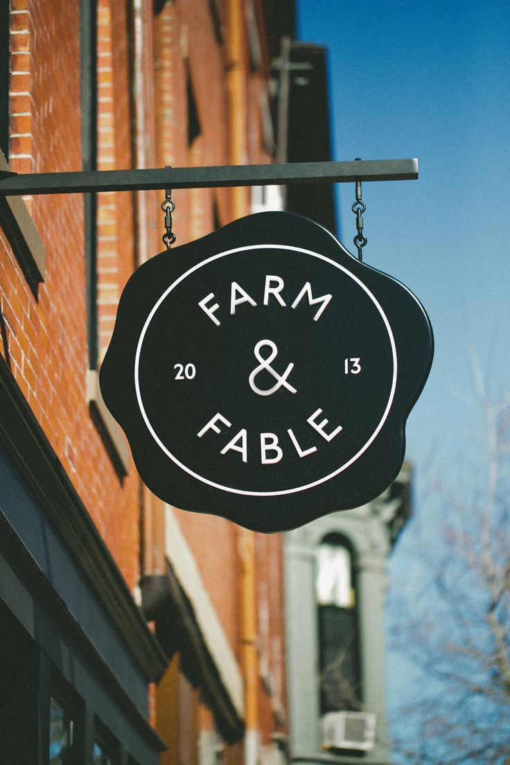 Silent Sunday: Farm and Fable (Boston, MA) - A Thought For Food