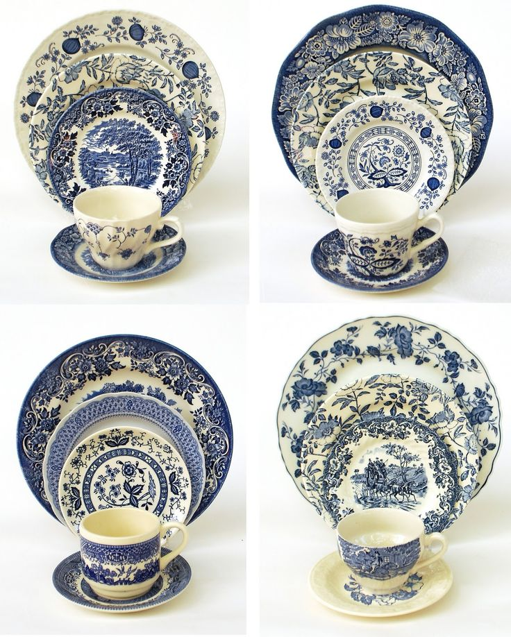 89 best Mix and Match Vintage China & Pottery images on Pinterest ...