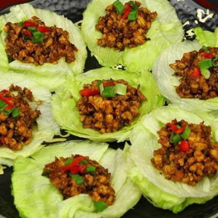 Chicken Recipe : Asian Chicken Lettuce Wraps Recipe