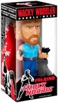 Name: Talking Chuck Norris Manufacturer: Funko Series: Wacky Wobbler Release Date: December 2011 For ages: 4 and up Details (Description): Even tough guys like Chuck Norris become immortalized in bobble form