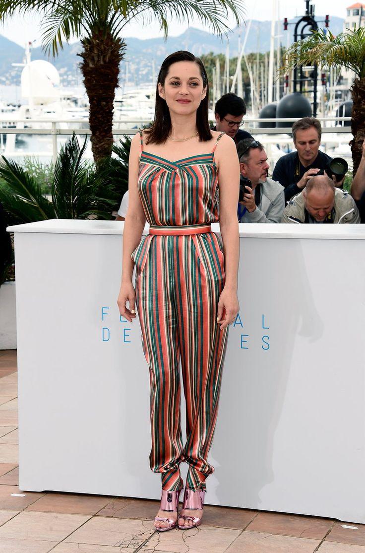 Marion Cotillard w kombinezonie Ulyana Sergeenko  #MarionCotillard #Cotillard #kombinezon #UlyanaSergeenko #moda #fashion #vumag