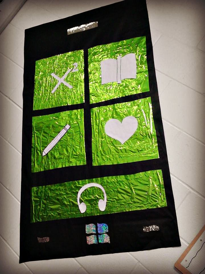 Windows Phone bulletin board for a technology themed classroom. Check out joyelizabeth-hear… for more ideas and inspiration!