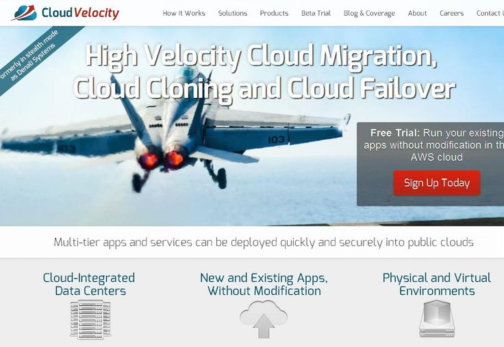 The CloudVelocity Disaster Recovery solution allows you to leverage one or multiple public cloud operating environments as a part of a holistic disaster recovery program. You can deploy your distributed application clusters and services into multiple clouds to augment existing data center services and balance into and from geographically dispersed clouds within minutes and within established recovery point (RPO) and recovery time (RTO) objectives.