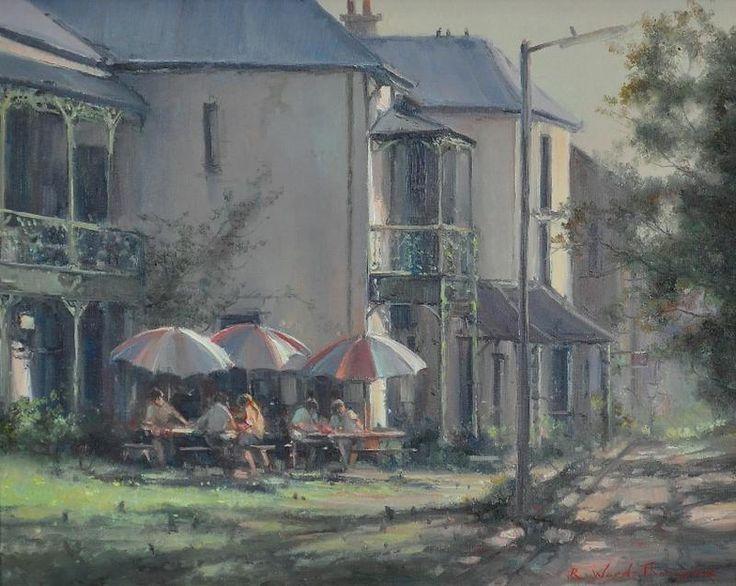 'Tea Garden, Hunters Hill, Sydney'