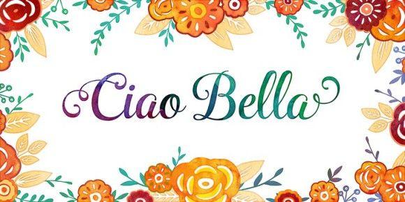 Font dňa – Ciao Bella   https://detepe.sk/font-dna-ciao-bella?utm_content=buffer7fcce&utm_medium=social&utm_source=pinterest.com&utm_campaign=buffer