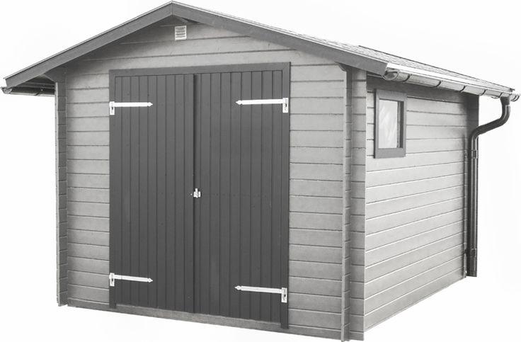 Förråd Boarp 7,5 Ett lite mindre knuttimrat förråd. Levereras med färdigkapade takåsar, oisolerad dubbeldörr (145 x 176 cm), plexiglasfönster (56 x 38 cm) och 17 mm råspontgolv. Ventilationsgaller och spik/ skruvsats medföljer. Taksats finns som tillval.