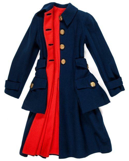 Les Arts Décoratifs - Dries Van Noten - Inspirations - Elsa Schiaparelli, manteau de jour automne-hiver 1939-1940