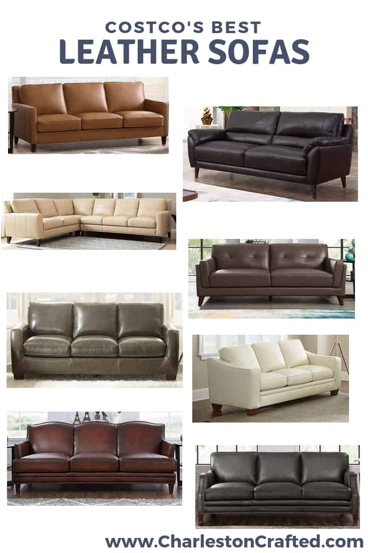 The Best Costco Couches In 2020 Leather Sectional Sofas Top