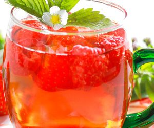 This Raspberry Tea Cocktail is my favorite nonalcoholic mixed drink. Easy to make and quite delicious.