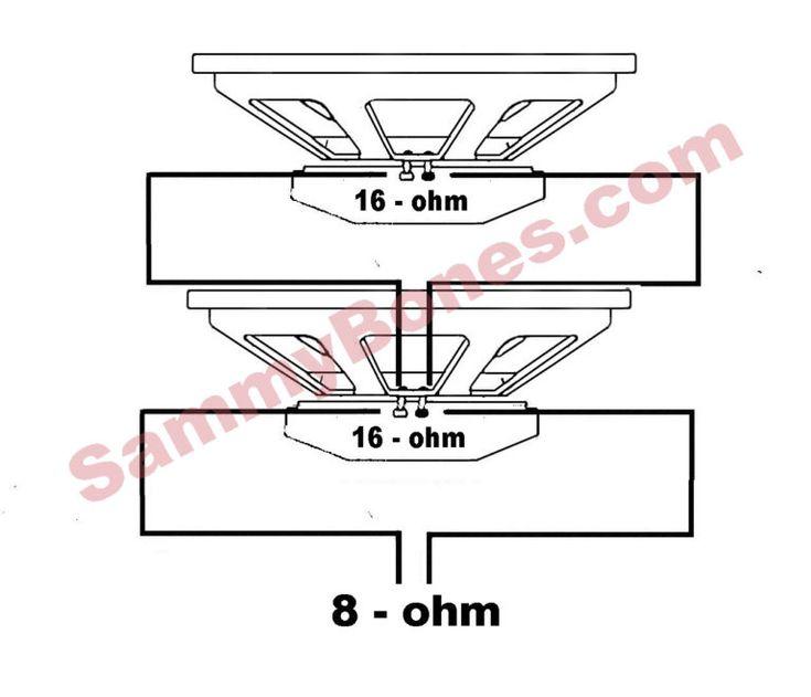 2 Speaker 8 Ohm Wiring Diagram Within Wire