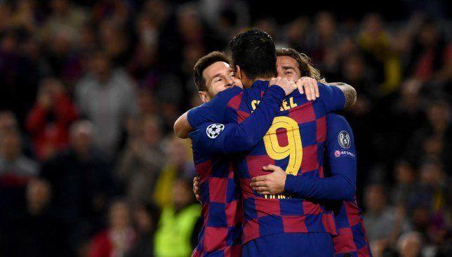 نتيجة مباراة برشلونة اليوم البارسا يضرب بثلاثية ويتأهل في الصدارة Lionel Messi Borussia Dortmund Dortmund