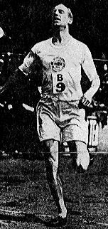 """Eric Henry Liddell (1902 - 1945)   Record-breaking athlete who won Gold and Bronze Medals in the 1924 Paris Olympic Games. His life is remembered in the 1981 film """"Chariots of Fire""""."""