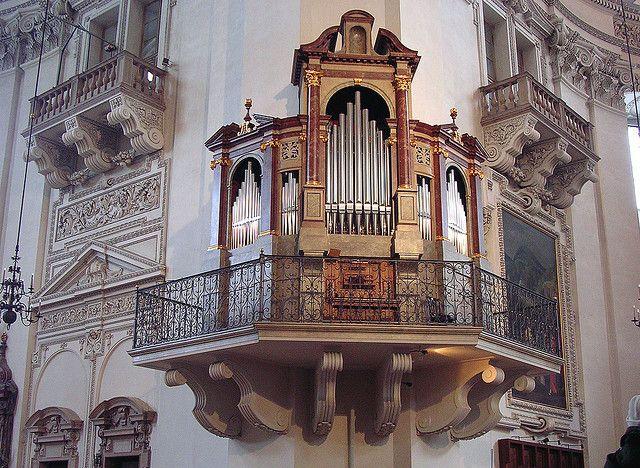 Salzburg - Cathedral Organ |