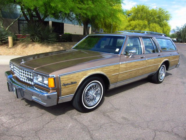 80s Chevy Caprice stationwagon. Didn't every family have one of these back in the day??