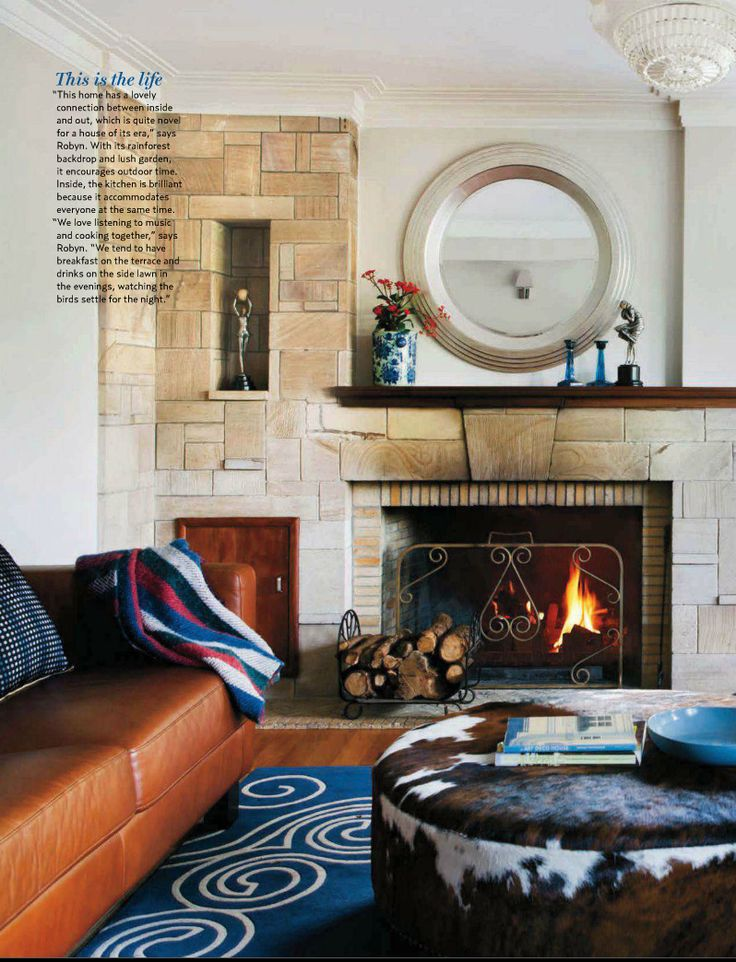 Art Deco Style Living Room Featured In House And Garden