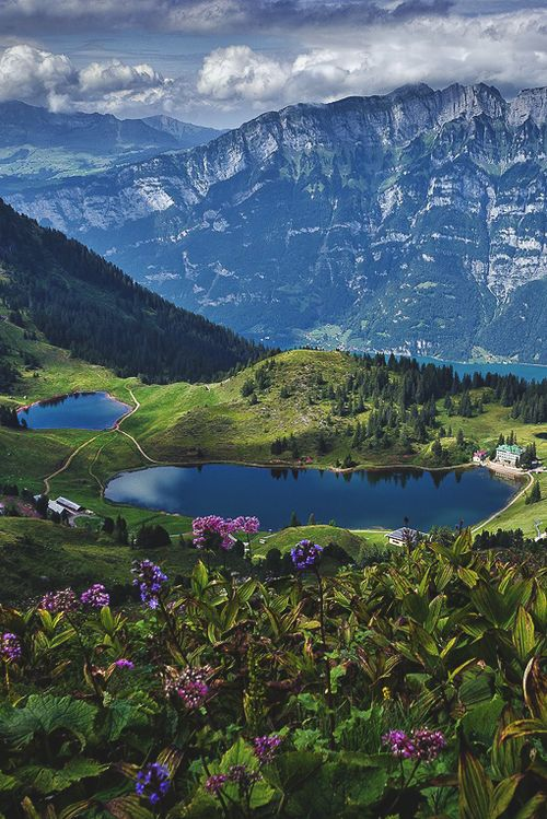Churfirsten, Switzerland (by Joerg Vieli)