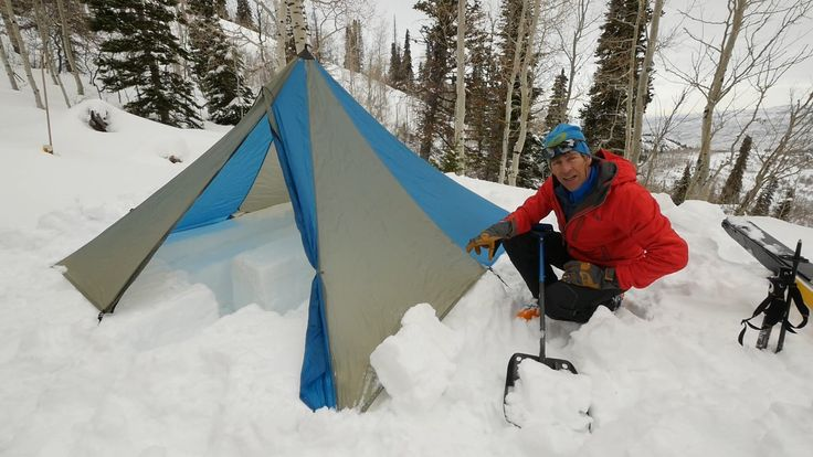 Ski Mountaineering Skills with Andrew McLean - Cook Tent
